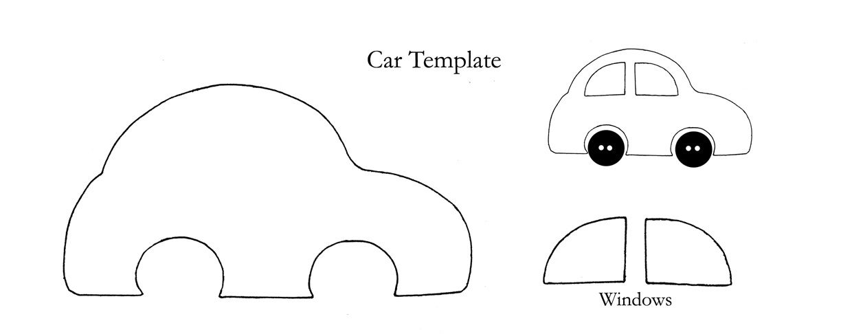 car applique template Car Pictures