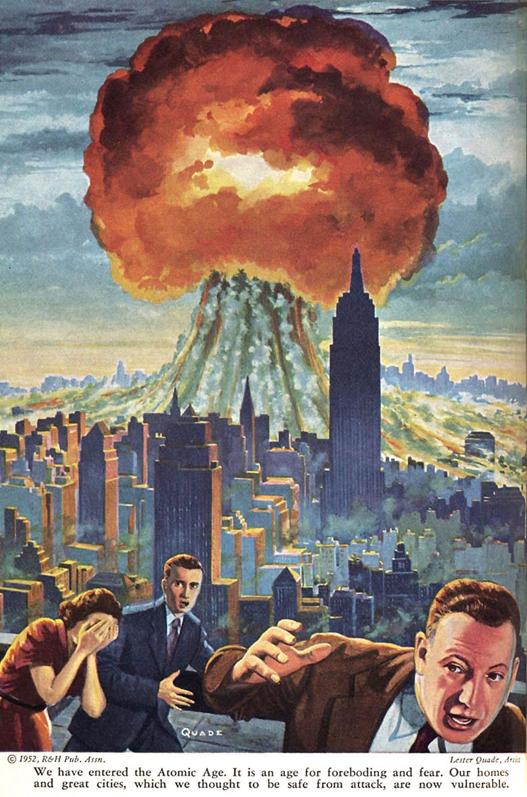 the history of nuclear weapons and their influence on the cold war Cold war: a brief history for more than forty years, the two superpowers, the united states and the soviet union directly threatened each other with nuclear weapons.