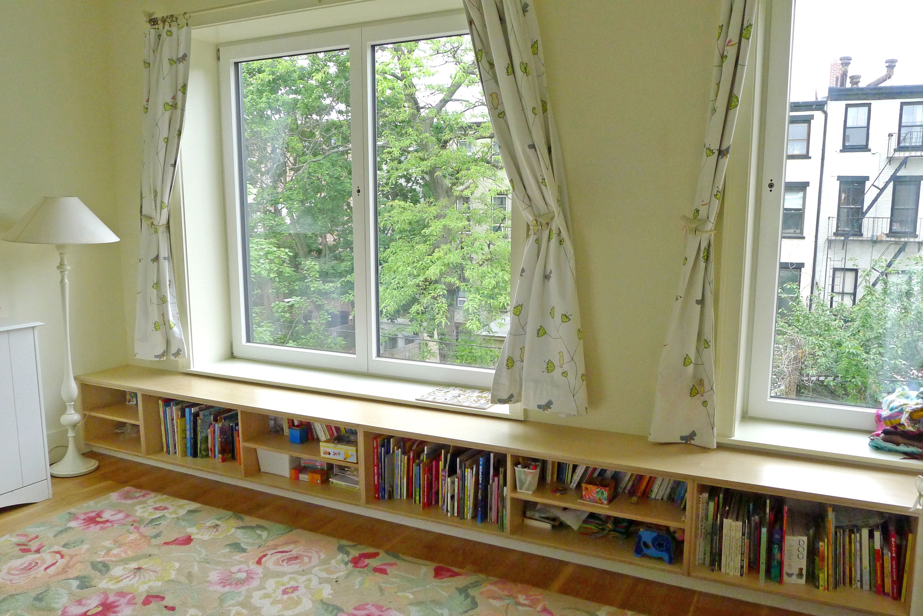 Bench Bookcase Bookcases Wall Units Pinterest