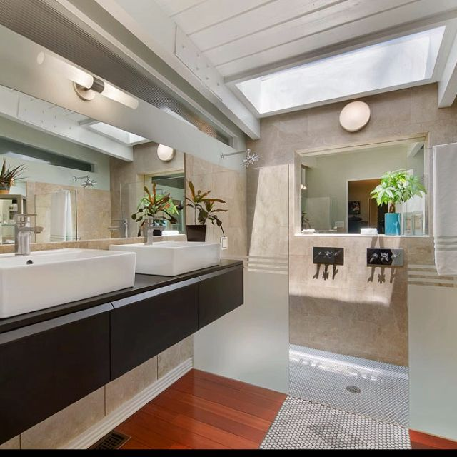 mcm bathroom redone bathroom redux ideas pinterest