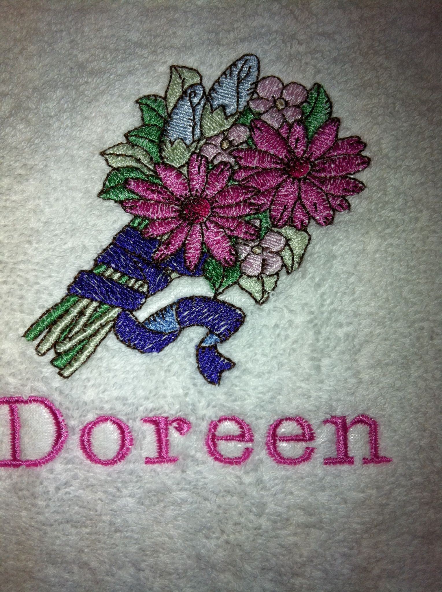 Machine embroidery flowers sewing pinterest