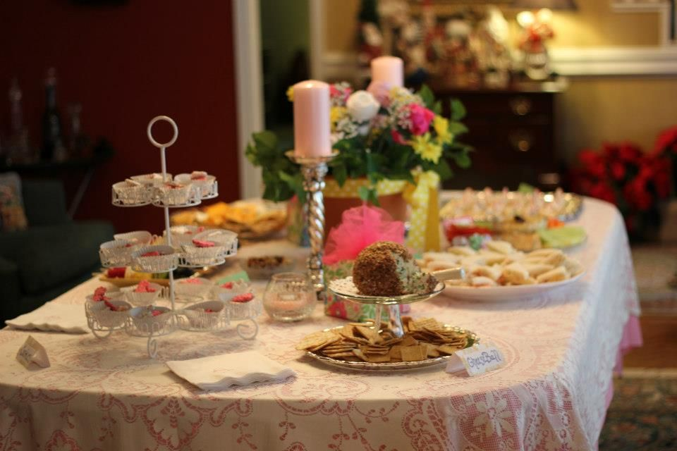 baby shower food table baby showers pinterest