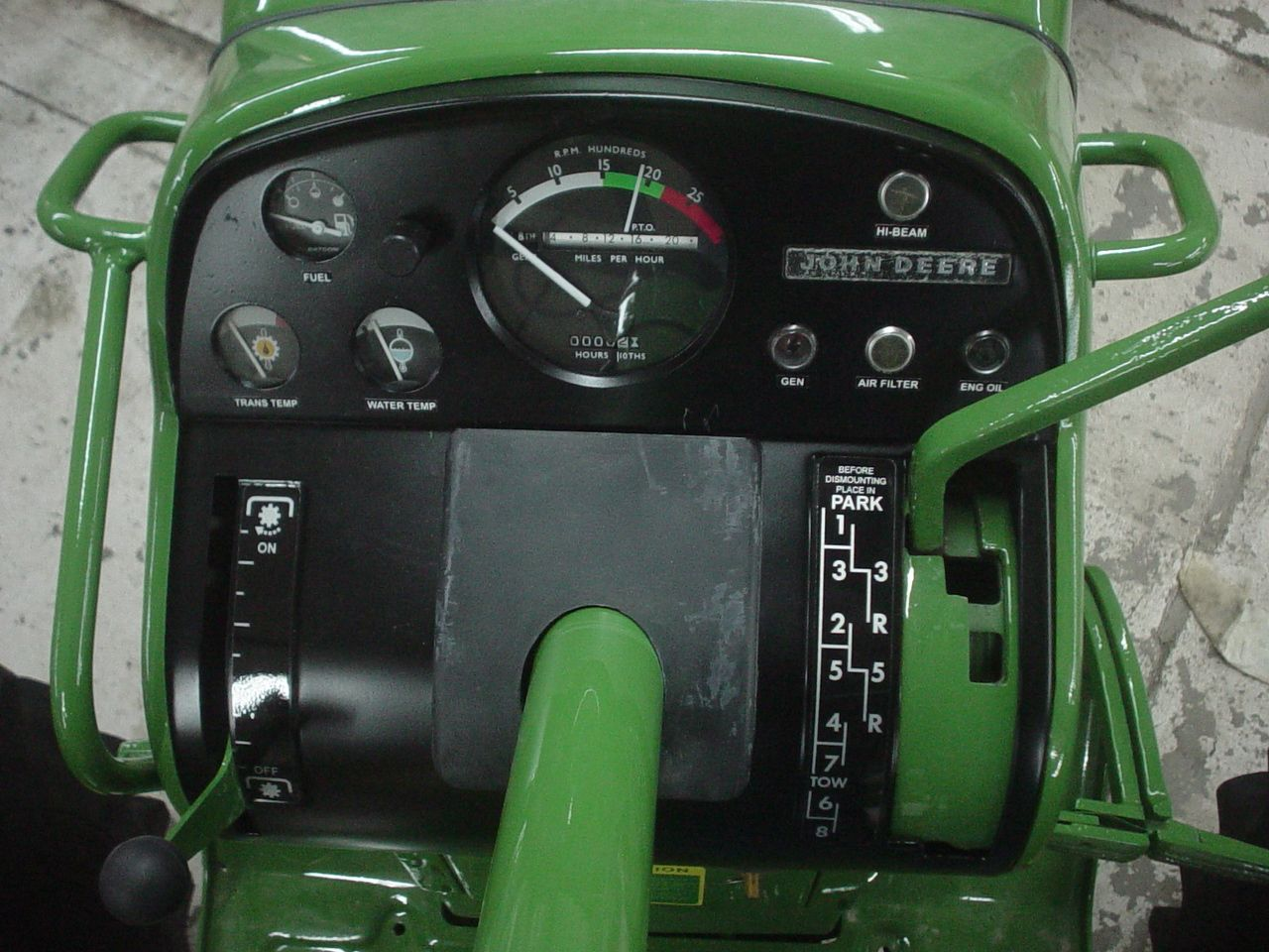 1010 John Deere Dash Light : Dash old john deeres pinterest