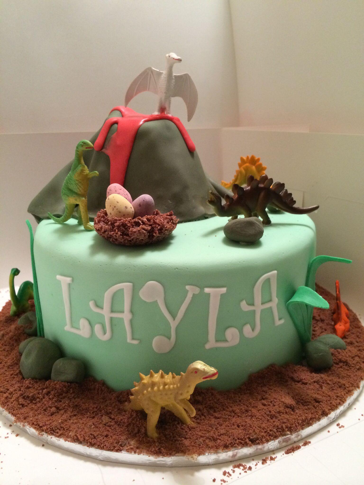 Dinosaur cake birthday cakes for boys pinterest