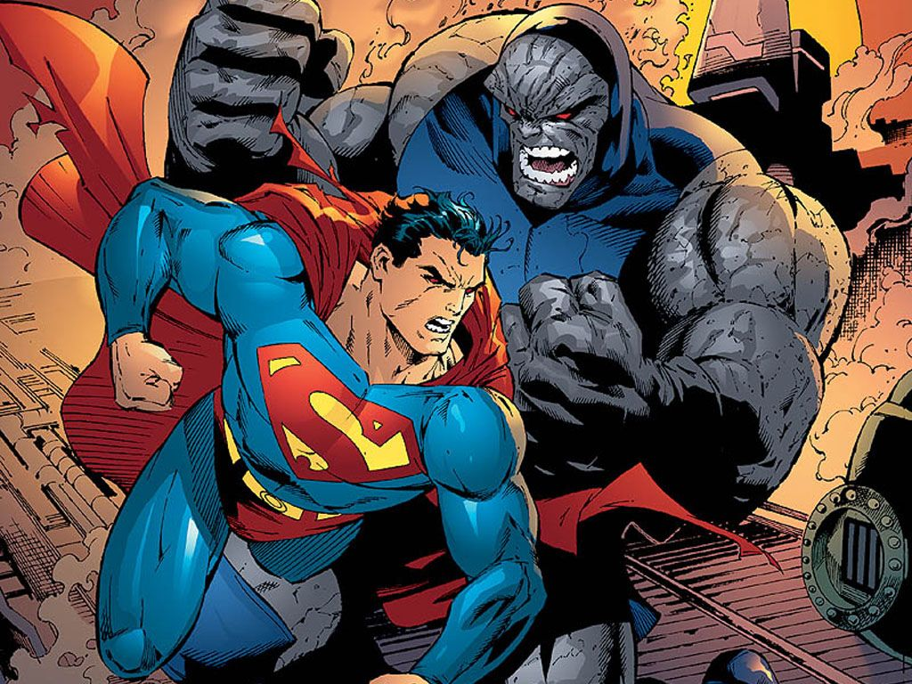 Superman vs darkseid | DC Comics | Pinterest