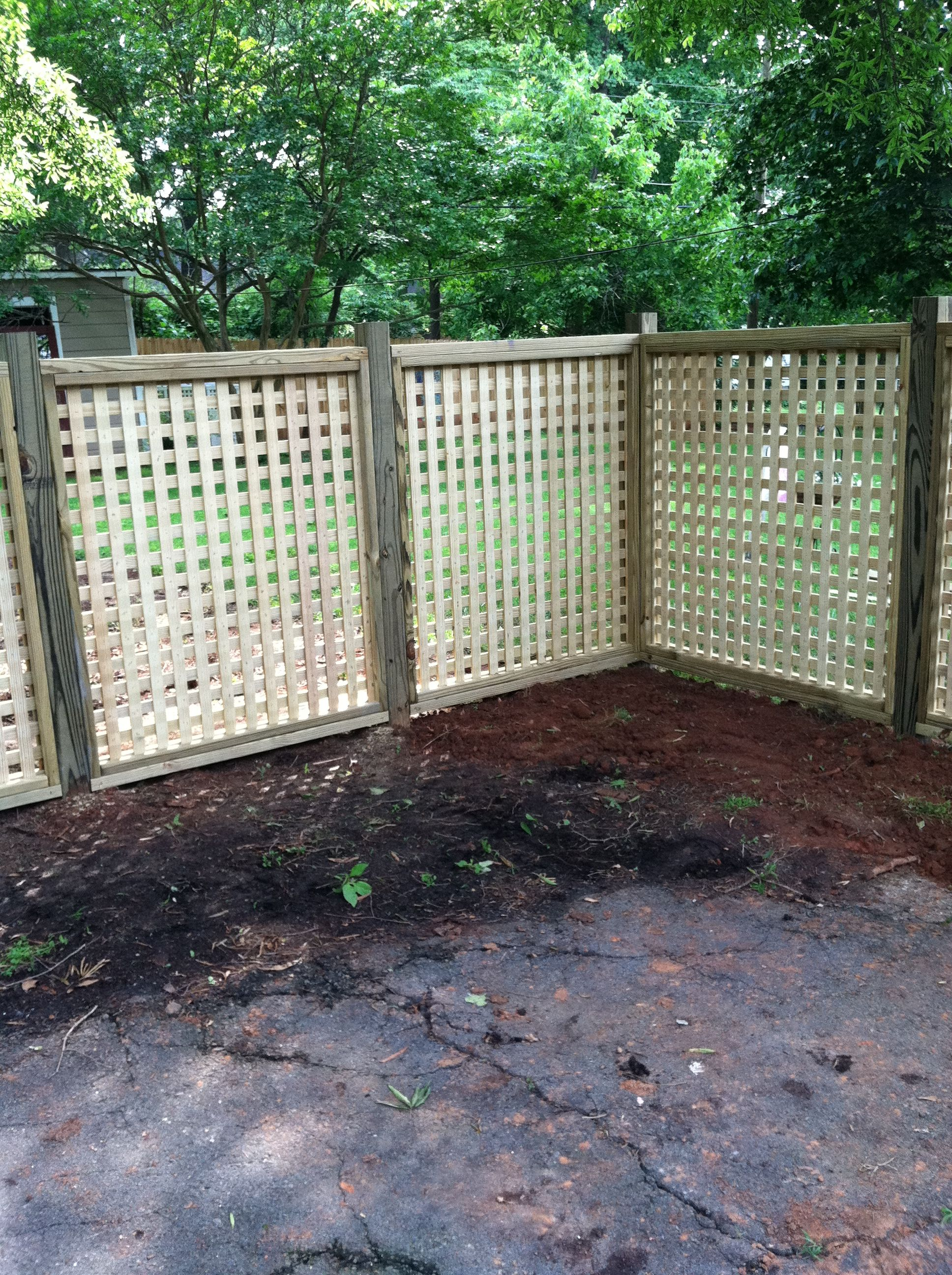New Backyard Fence : New backyard fencelove it  Southern girl  Pinterest