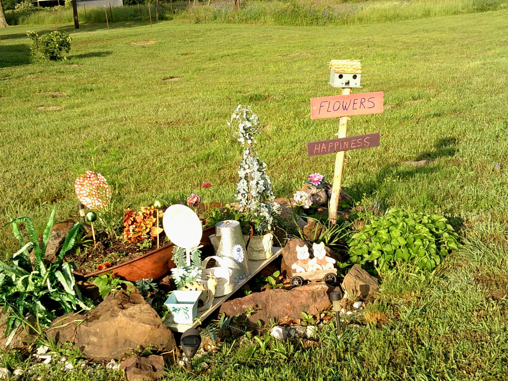Rock garden yard and garden crafts pinterest Yard and garden