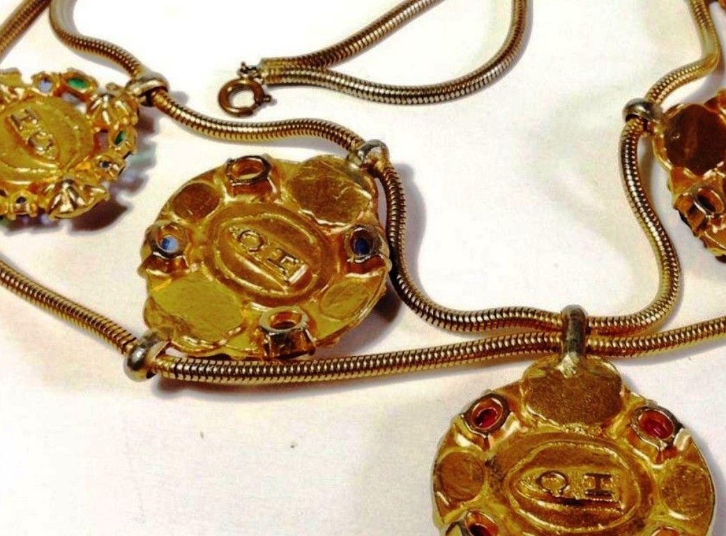 hc hattie carnegie jewelry makers marks pinterest