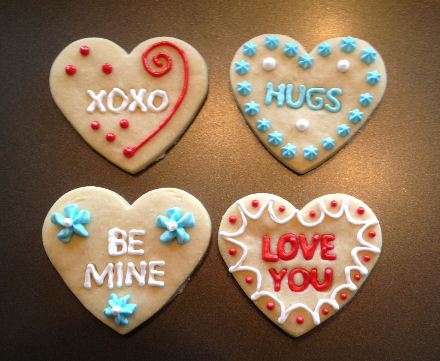 Conversation Heart Cookies | C is for Cookie | Pinterest