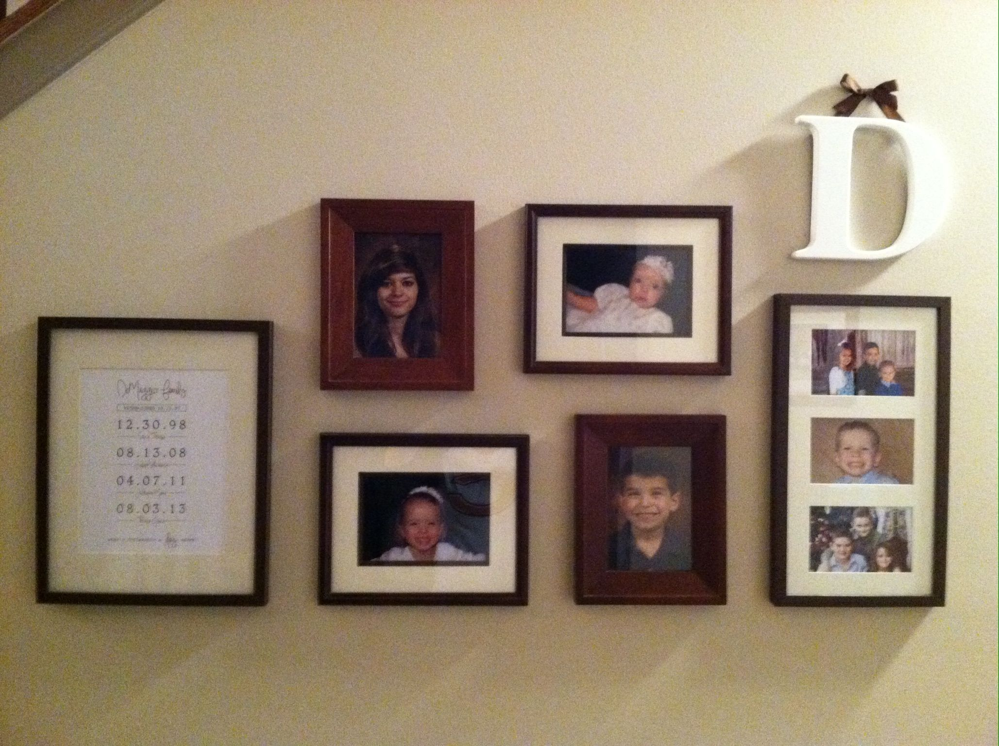 Frame Wall Arrangement My Completed Projects Pinterest