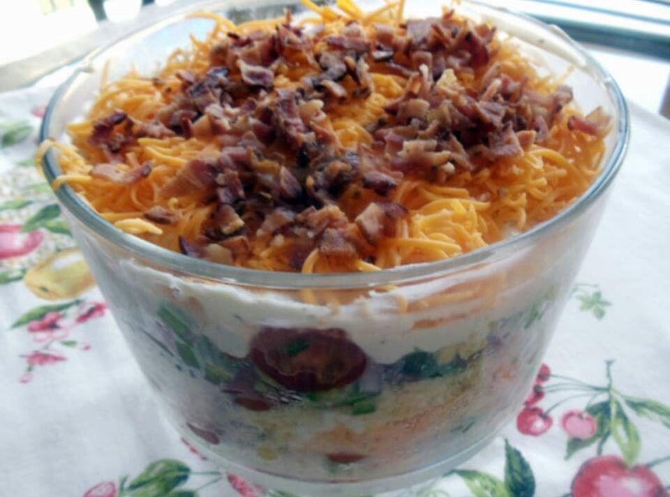 Corn Bread Salad   Salad Recipes   Pinterest