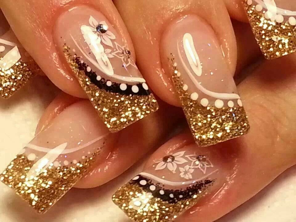 Dourada Nails Pinterest