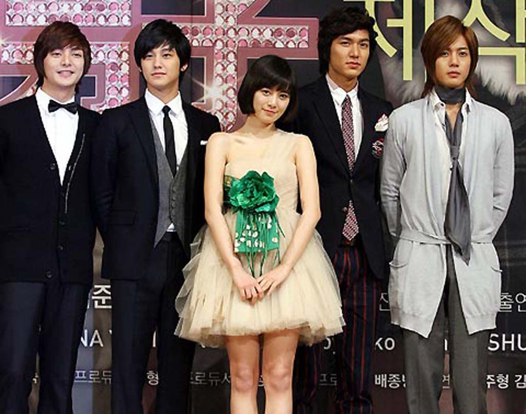 Boys Before Flowers cast