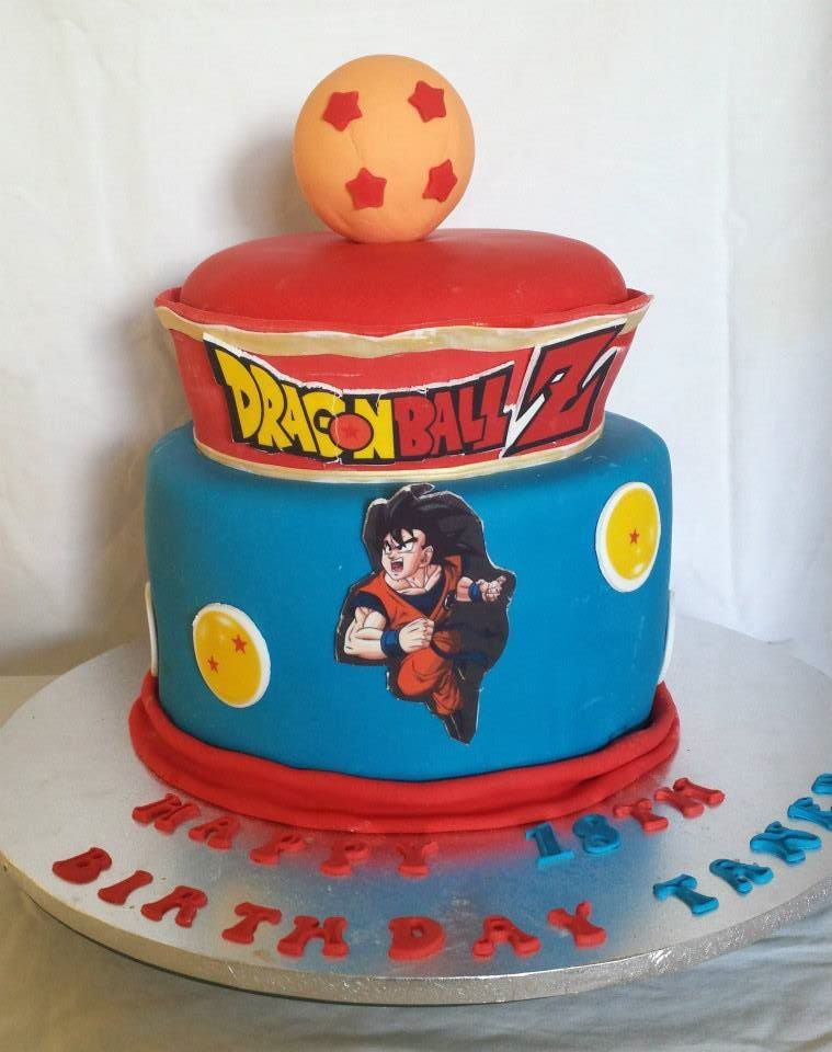 dragon ball birthday cake