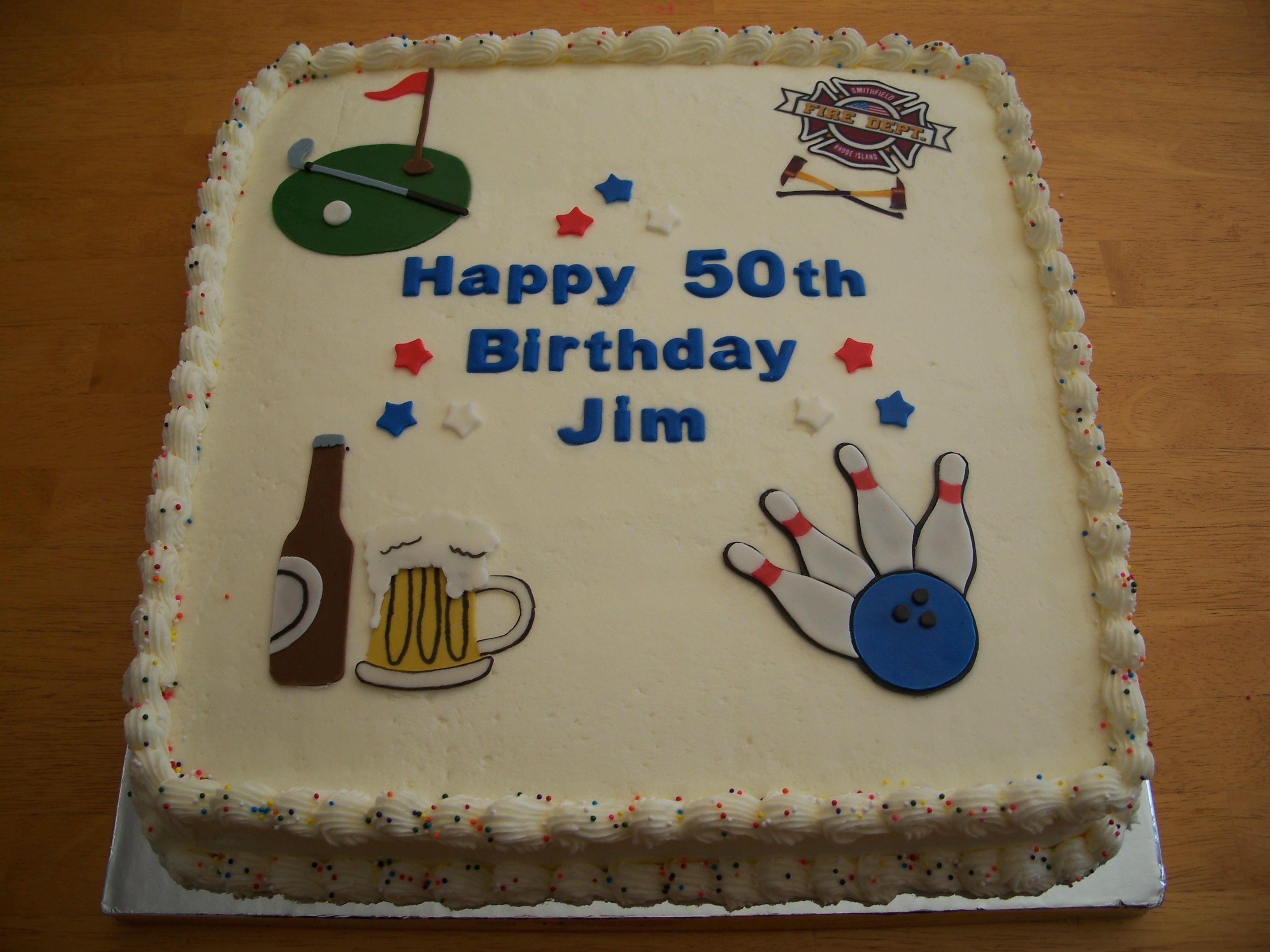 Cake Ideas For 50th Birthday Funny : 50th Birthday Cake Fun Stuff Pinterest