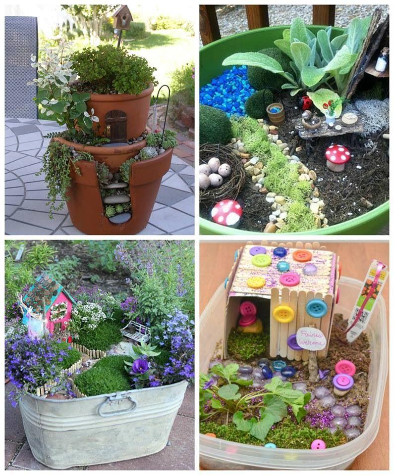 Fairy Garden Container Ideas Photograph Cool Wee Fairy Gar