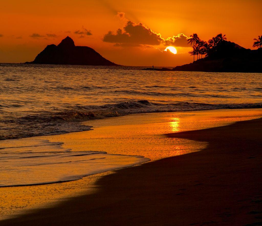 Kailua Beach Sunrise Hawaii | Sunrise Sunset | Pinterest