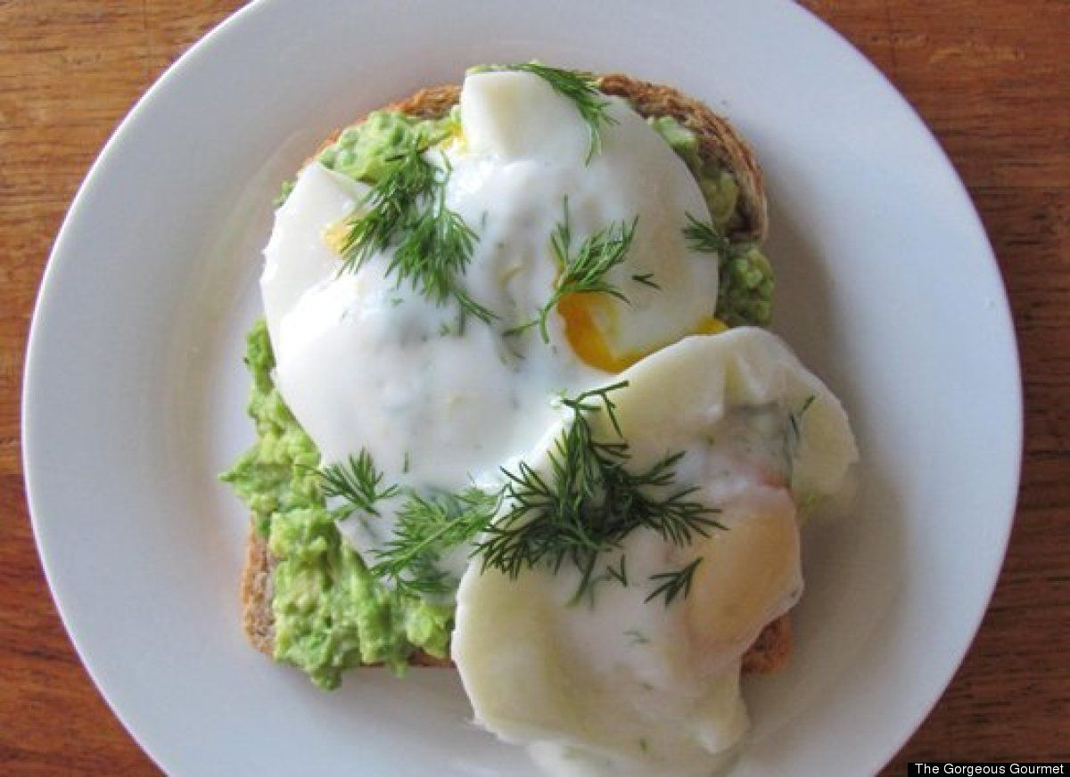 Healthy Eggs Benedict | /All about Food | Pinterest