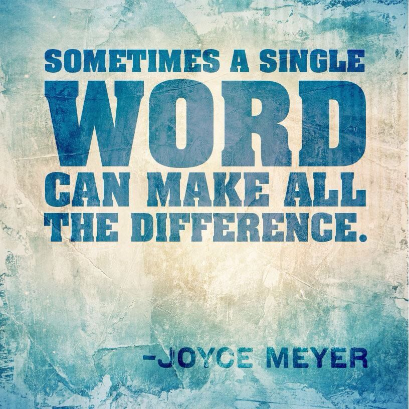 power of one word One word creates clarity, power, passion and life-change the simple power of one word is that it impacts all six dimensions of your life – mental, physical, emotional, relational, spiritual, and financial.