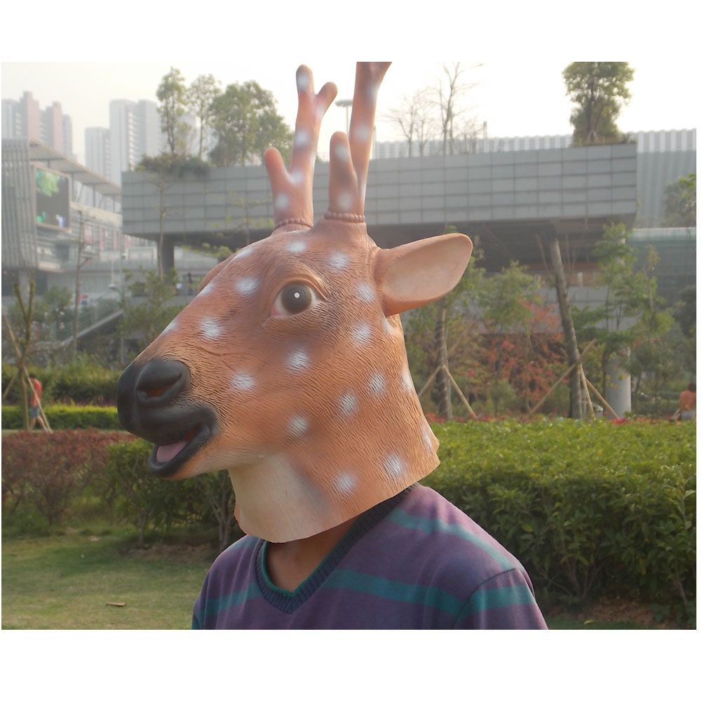 Sika Deer Head Mask