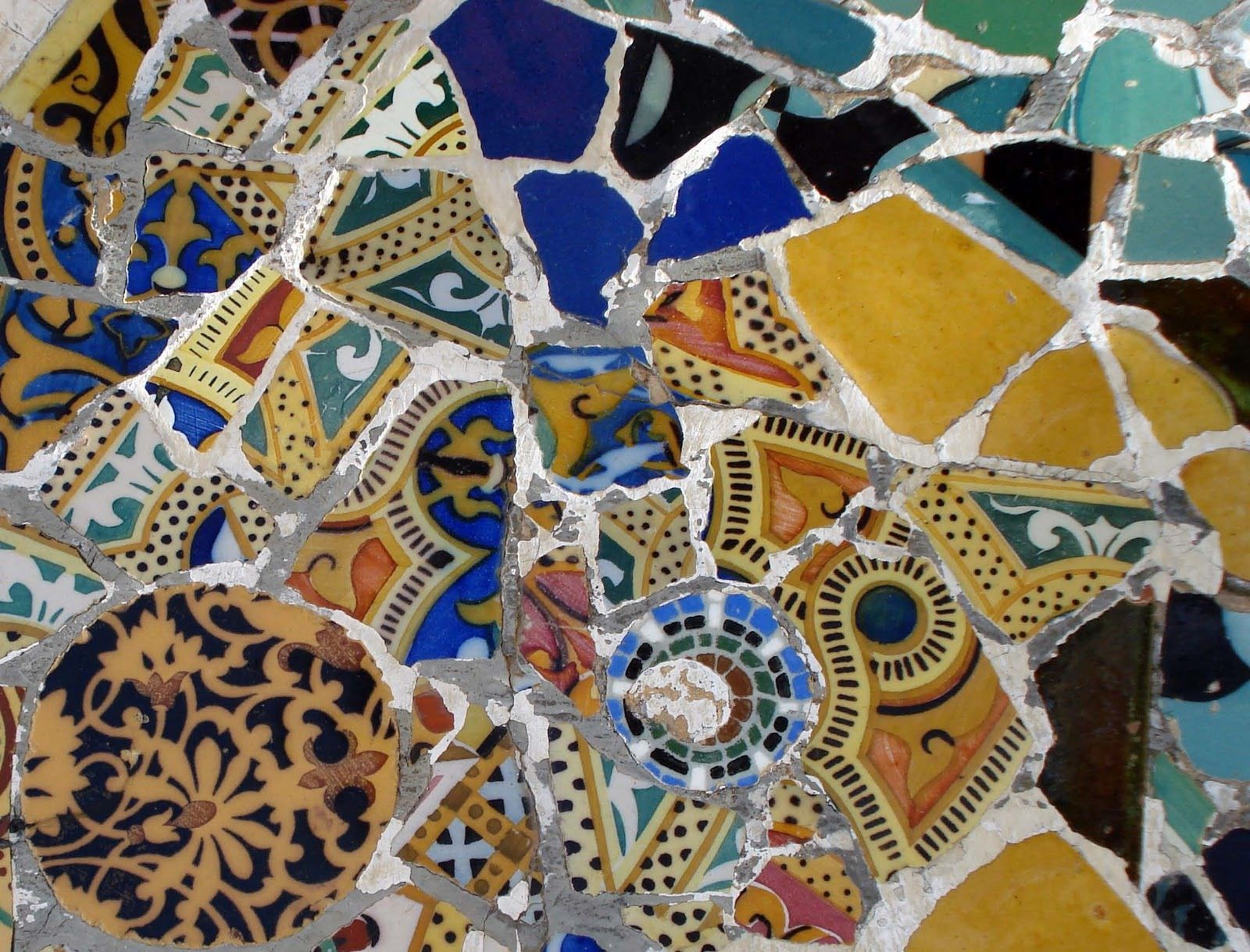 Gaudi Mosaic Antoni Pinterest