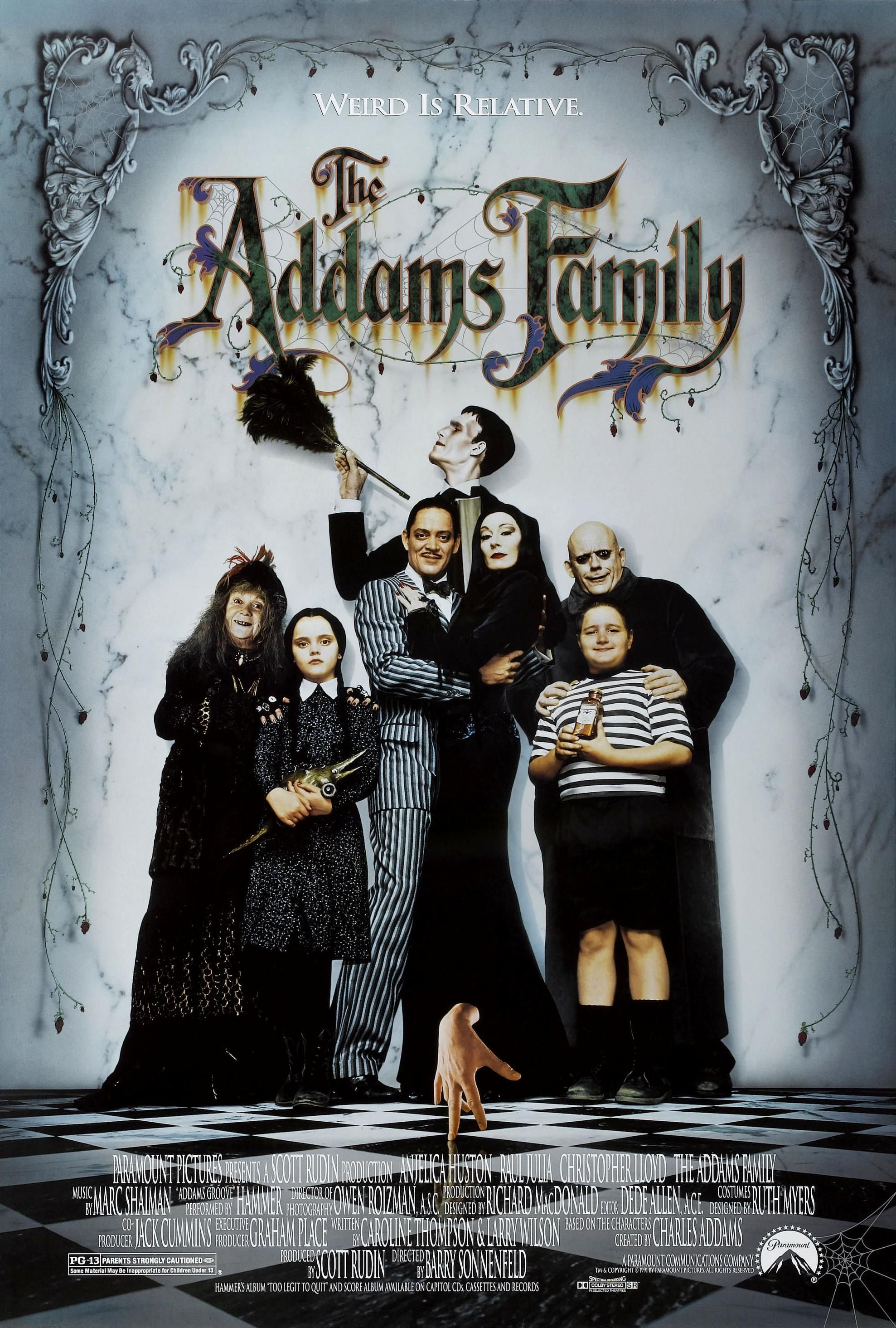 The Addams Family (1991) | Film I've Seen: 1990-1999 ...