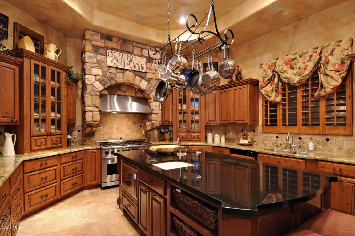 Tuscan Possibly French Country Kitchen The Dream Pinterest