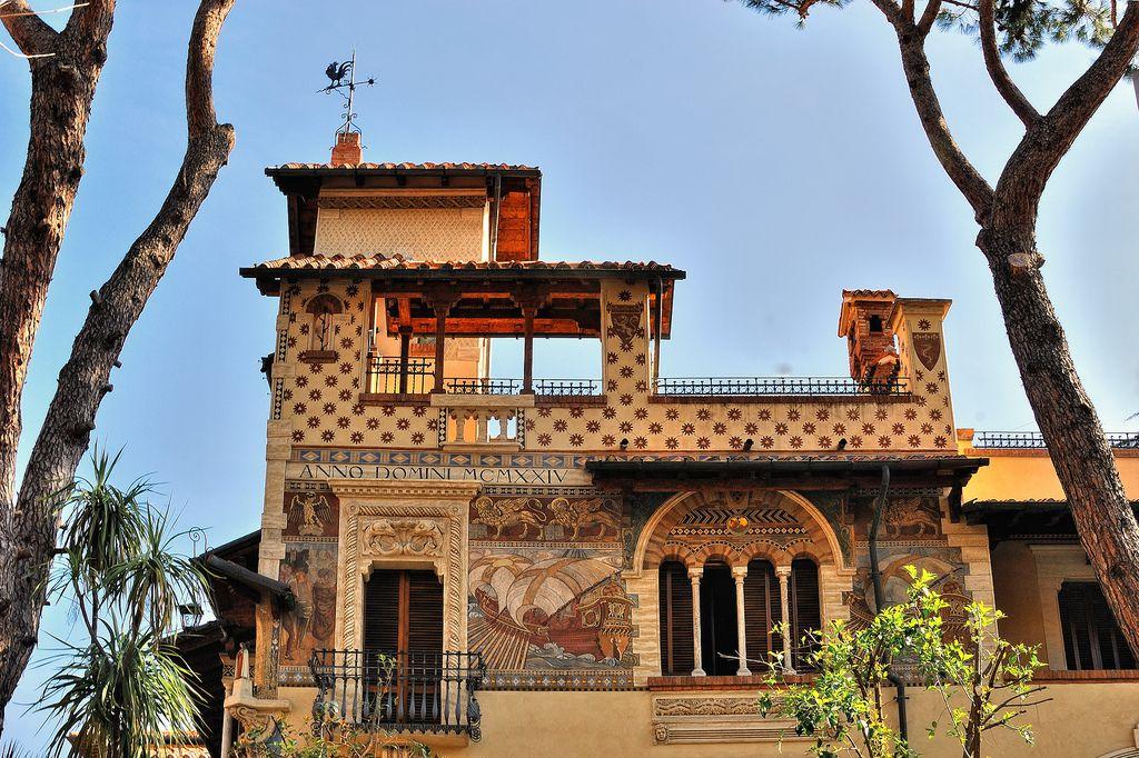 Quartiere Coppede Dora Rome archi...