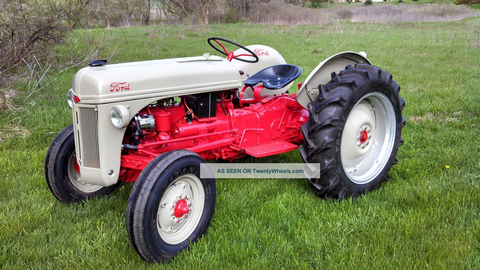 Mysteries Revealed - Farmall v. International Tractors Antique ford tractors pictures