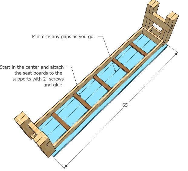 Wooden Bench Seat Designs