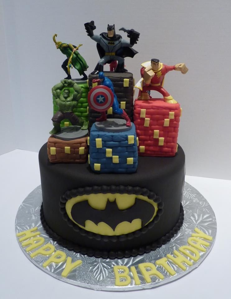 Cake Decorating Equipment Uk : Super hero cake Superhero Pinterest