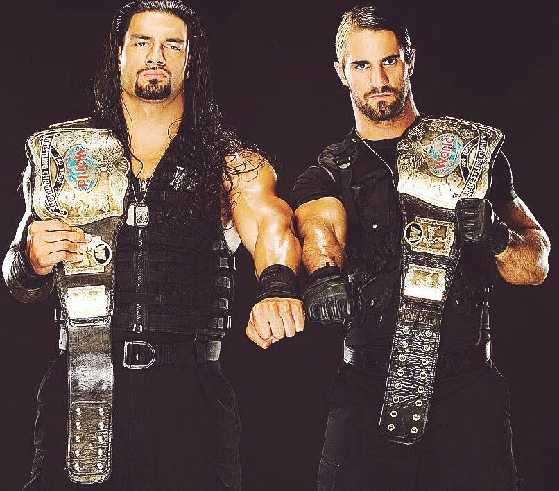 Roman Reigns and Seth Rollins | The Shield | Pinterest