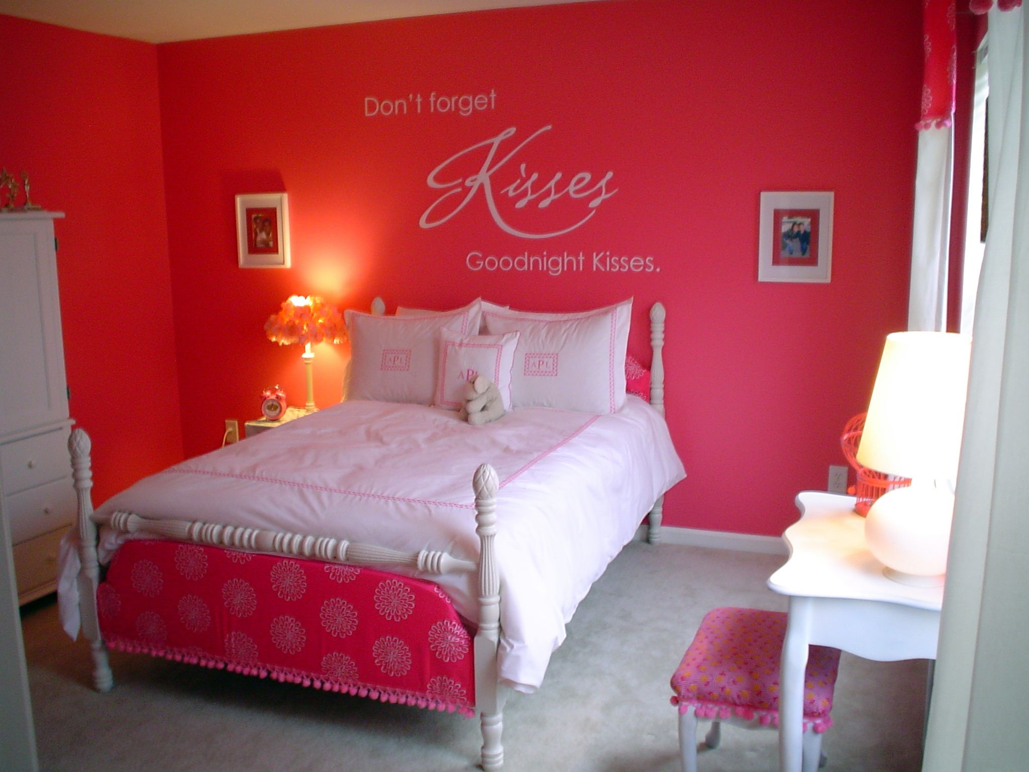 Hot Pink Bedroom Curtains Hot Pink Bedroom Decor