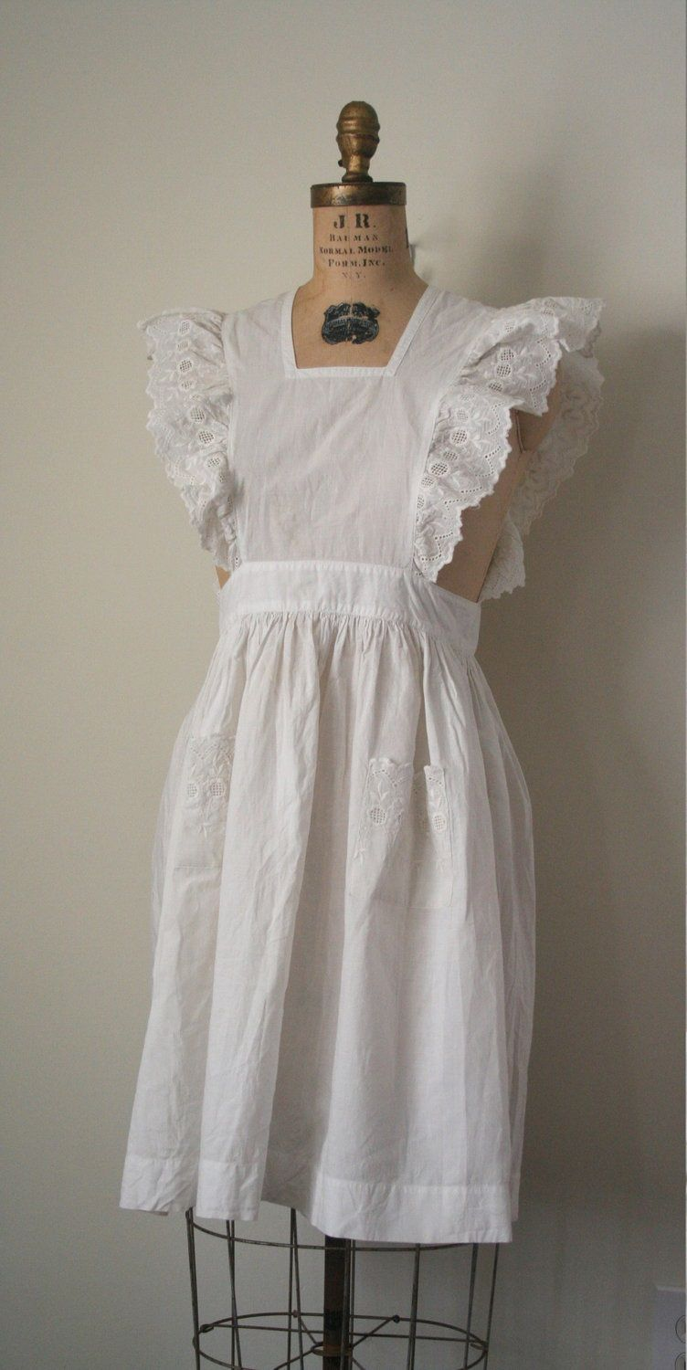 White pinafore apron ebay - The 13 Best Images About Costumes Sets On Pinterest Sewing Patterns Glitter Shoes And Children Clothing