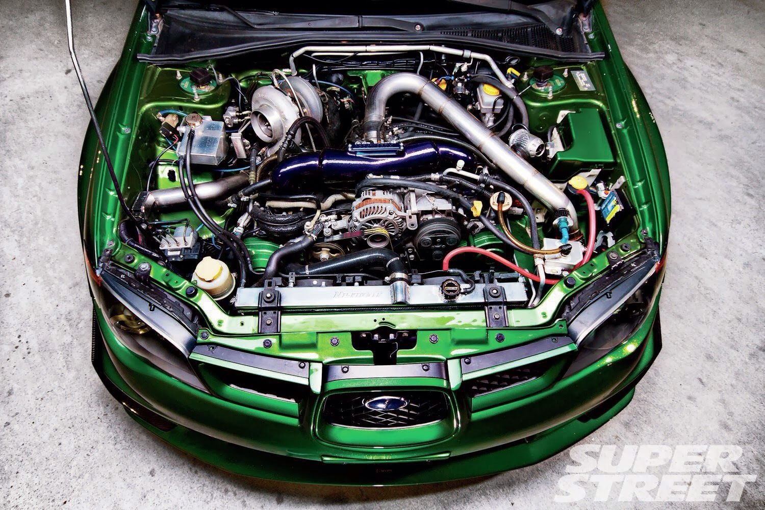 subaru impreza engine performance parts