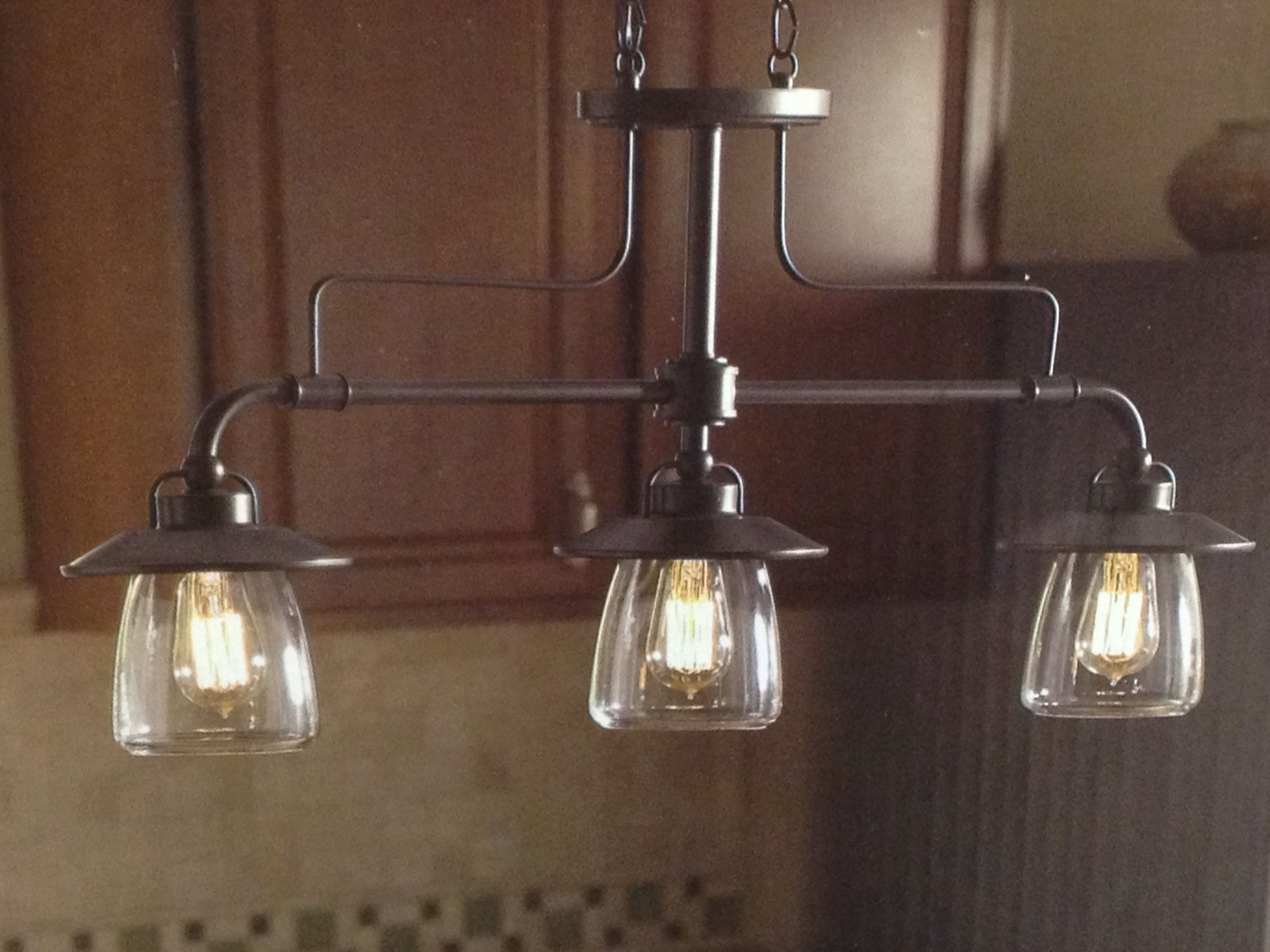 allen roth edison 3 light pendent kitchen pinterest. Black Bedroom Furniture Sets. Home Design Ideas