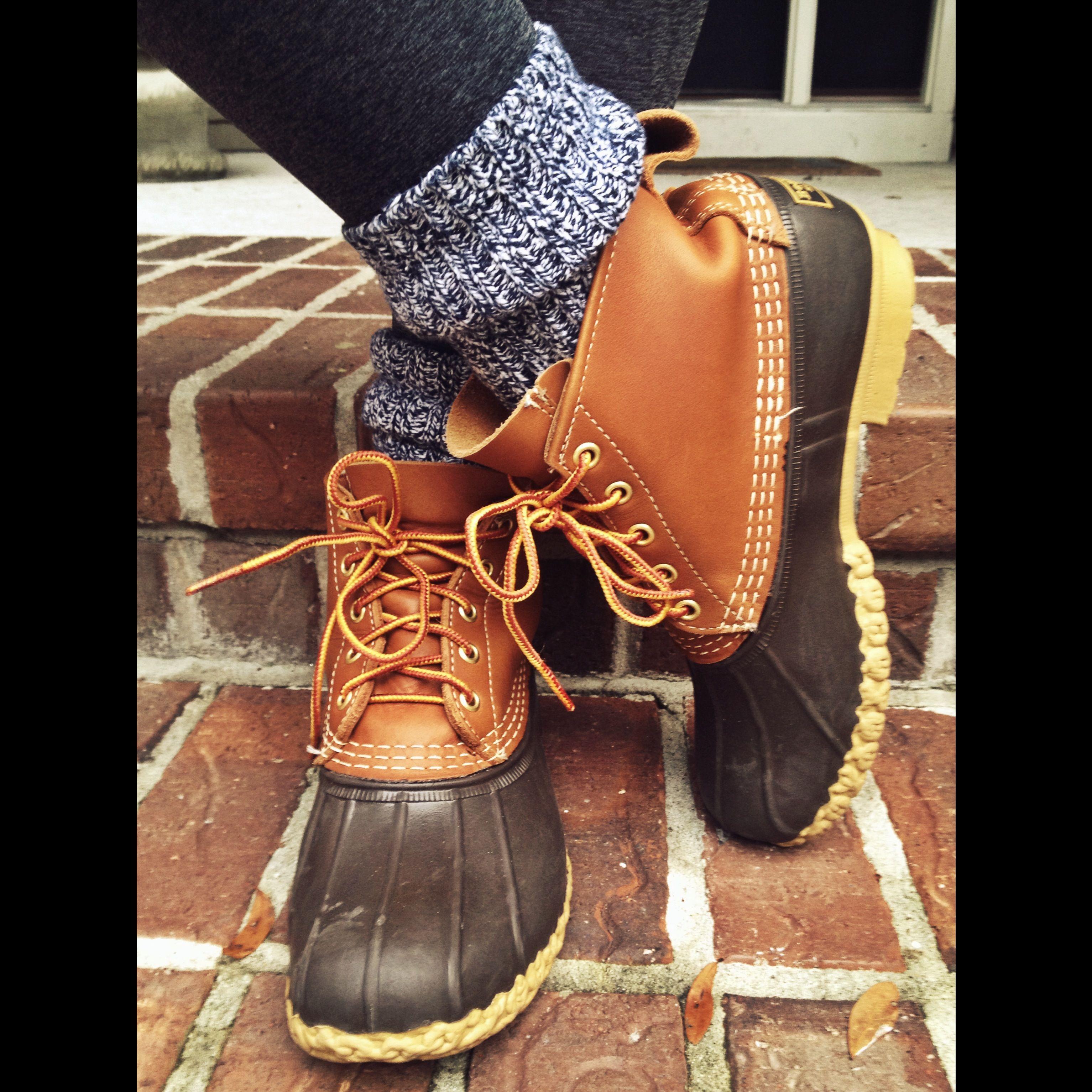 Ll bean duck boots preppy - photo#21