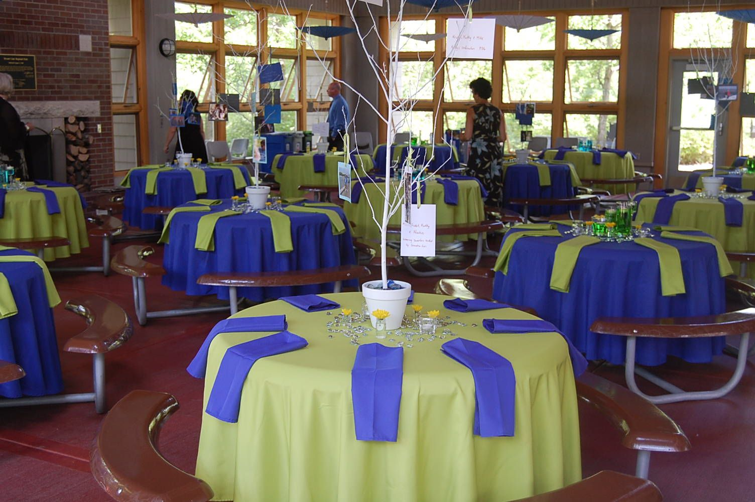Royal blue and lime green lime green and blue wedding for Lime and blue