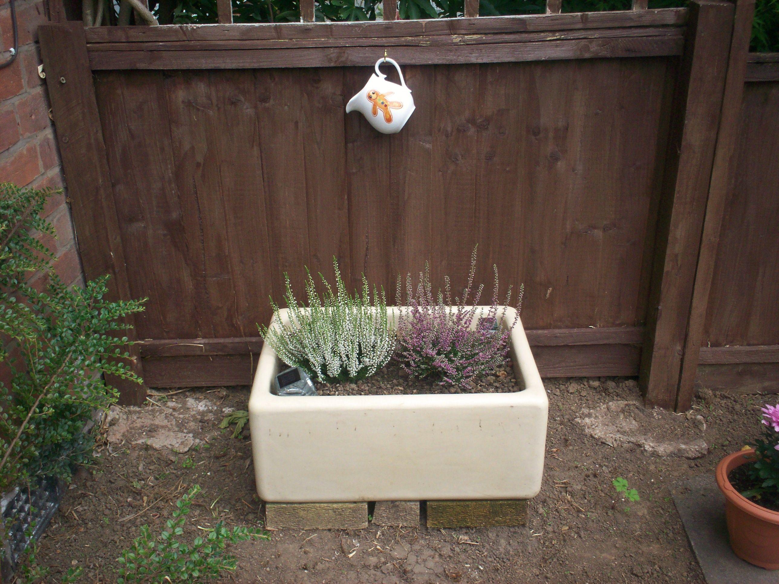 belfast sink garden ideas