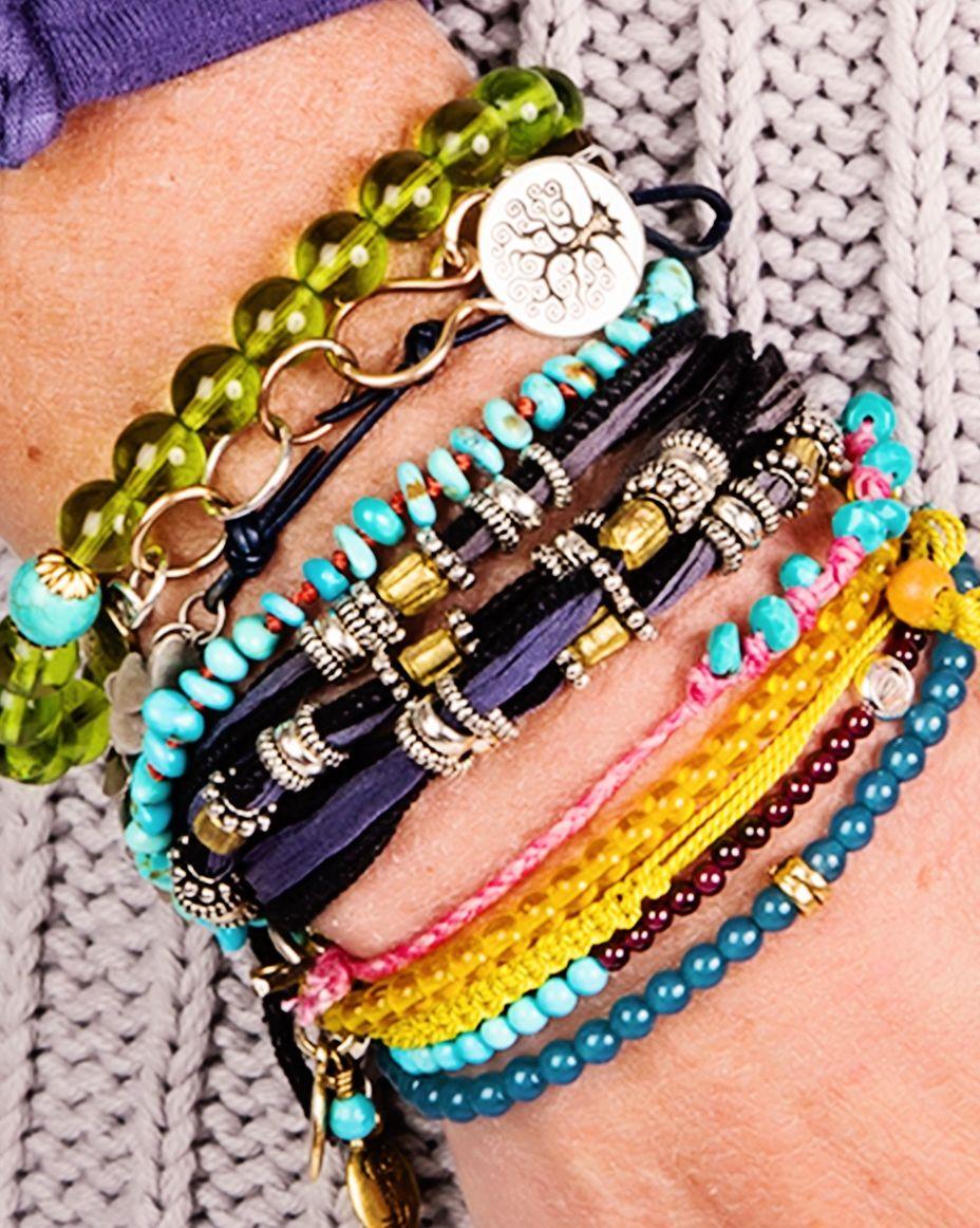 stacked bracelets | Fashion Jewelry | Pinterest
