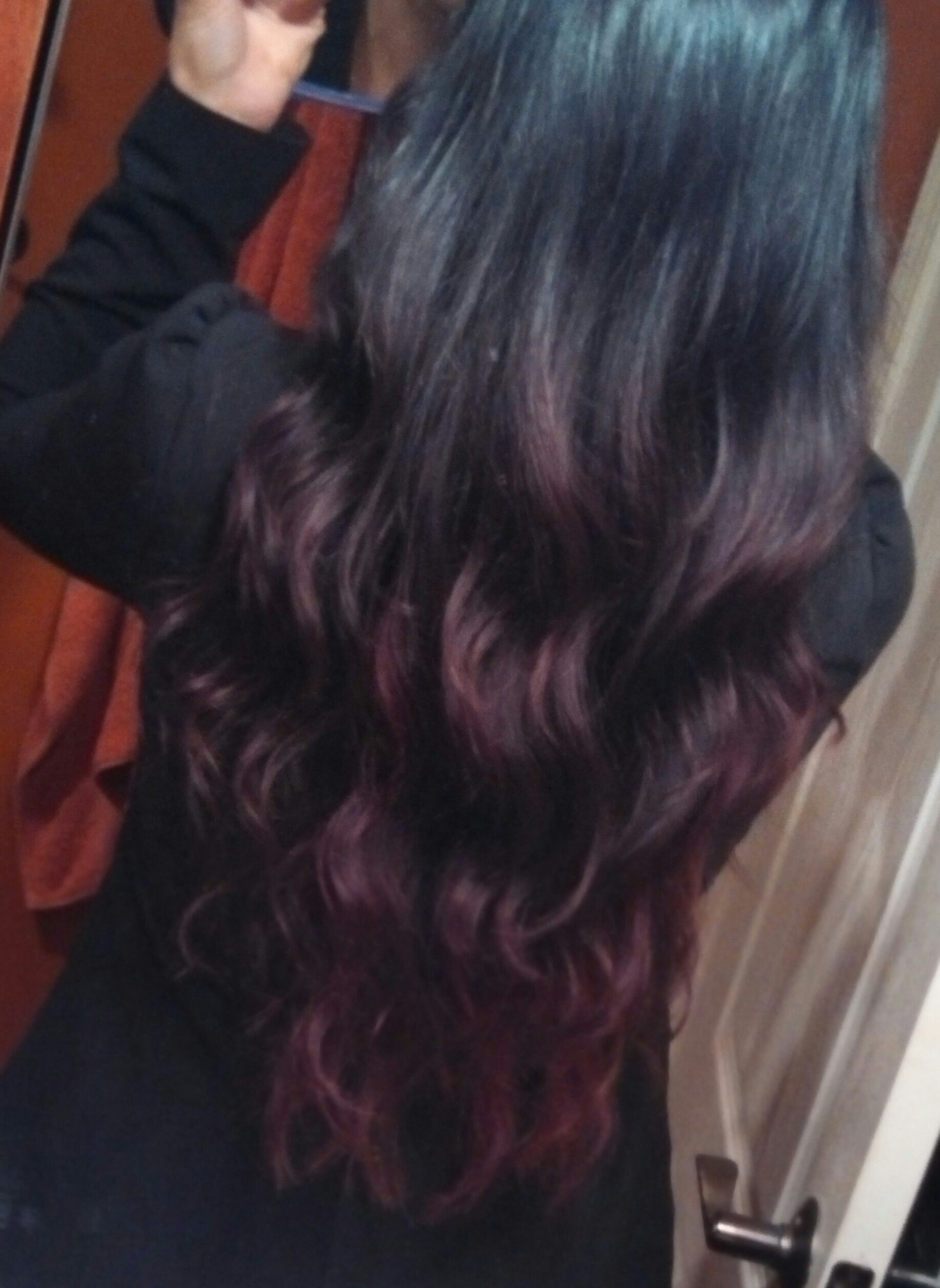 and black ombre hair hair ideas