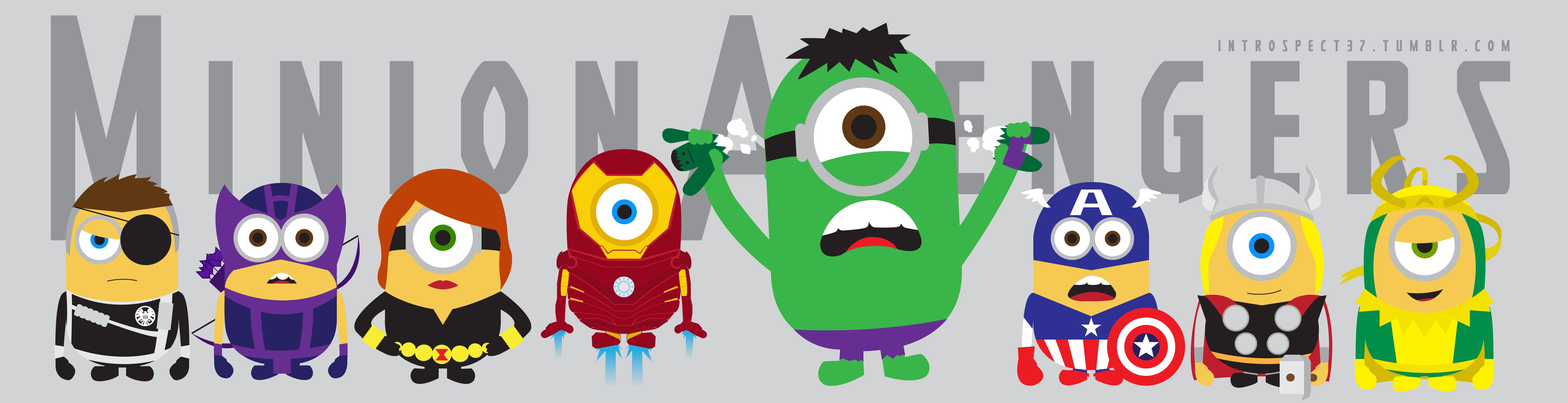 Avengers Assemble! Minion edition | Funnies. | Pinterest