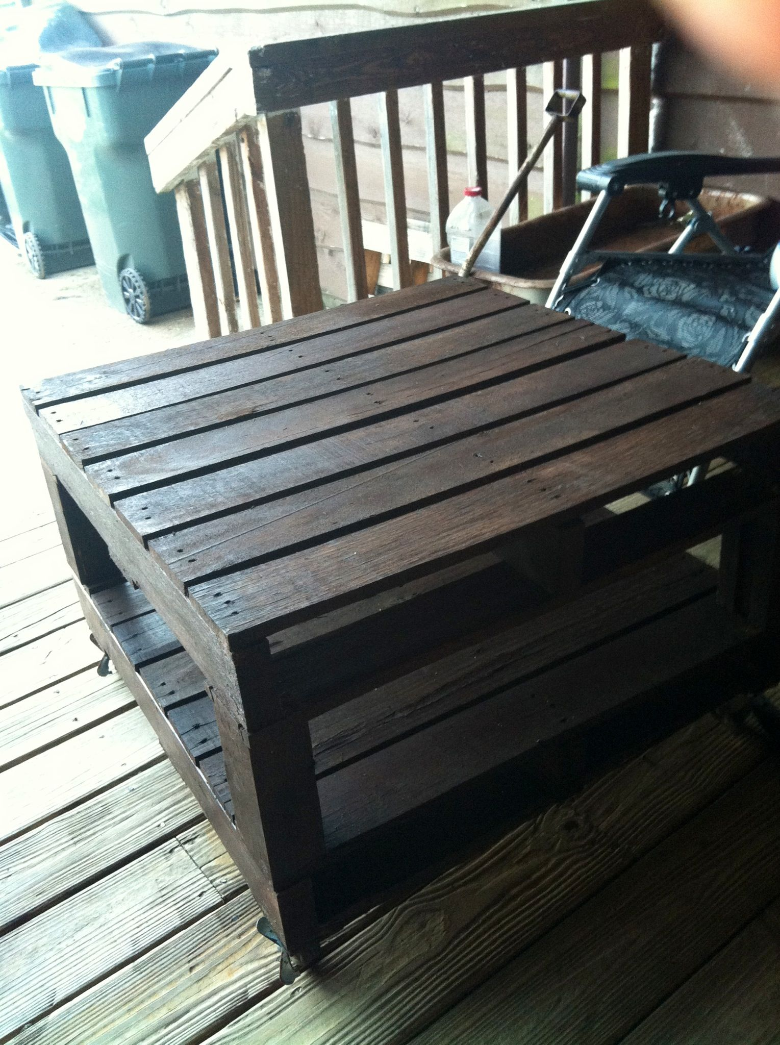 Superb img of Wood Pallet Table. Wood pallets Pinterest with #836D48 color and 1529x2048 pixels