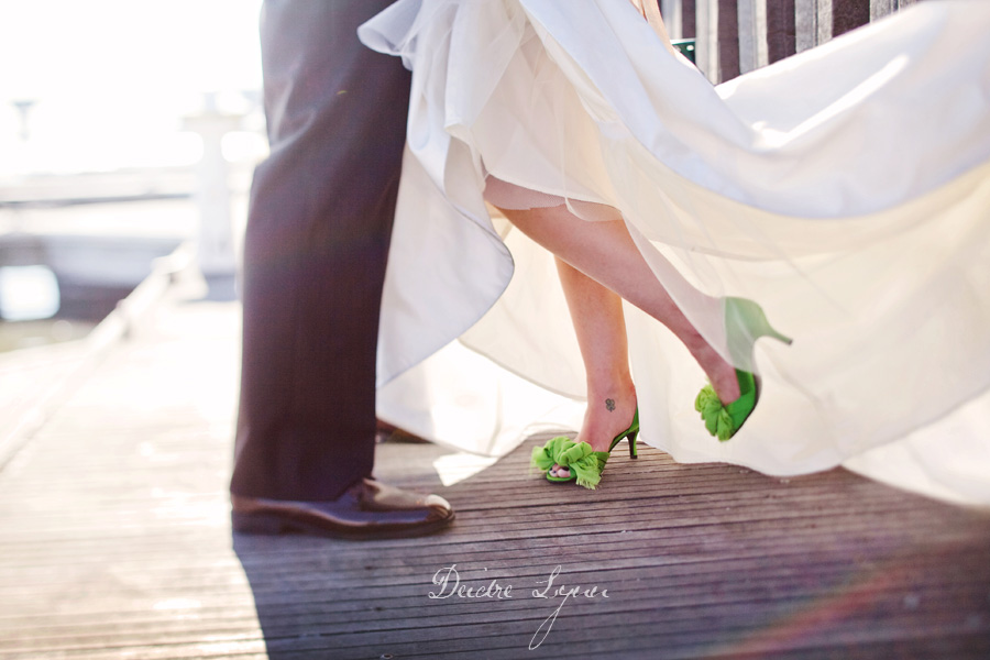 Green Wedding Shoes Weddings My Wedding Day Pinterest