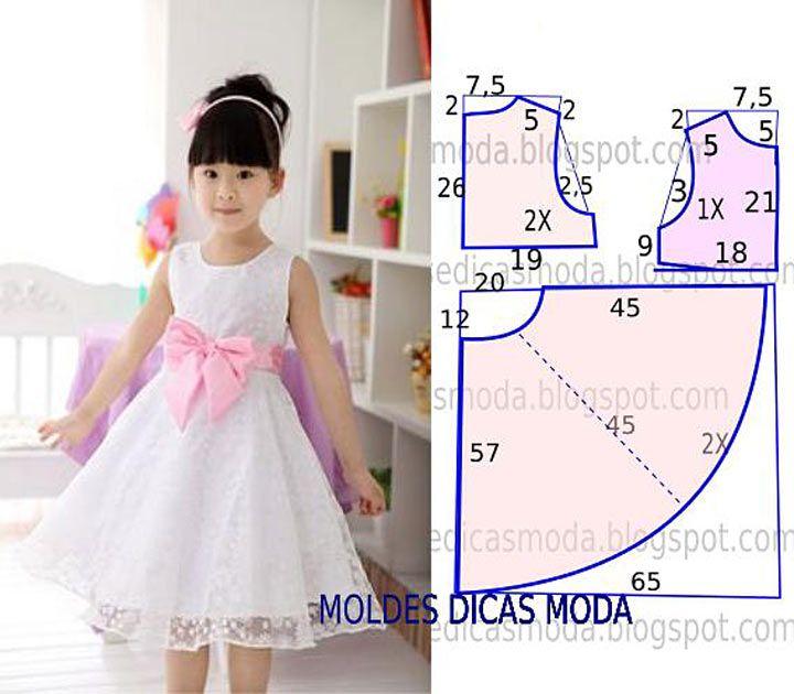 Платье для девочек. как сшить 174