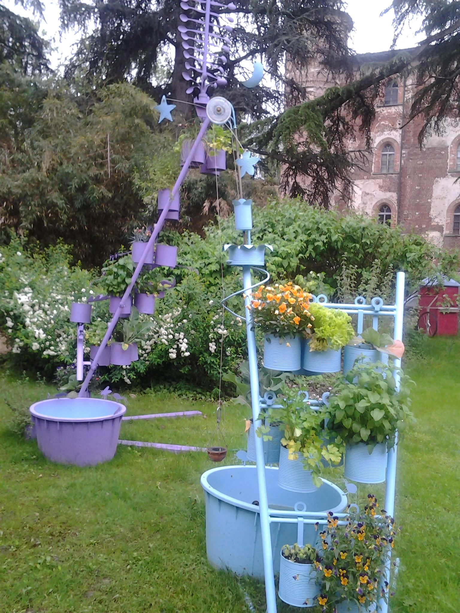 Giardini verticali  Giardini e...giardini incantati  Pinterest