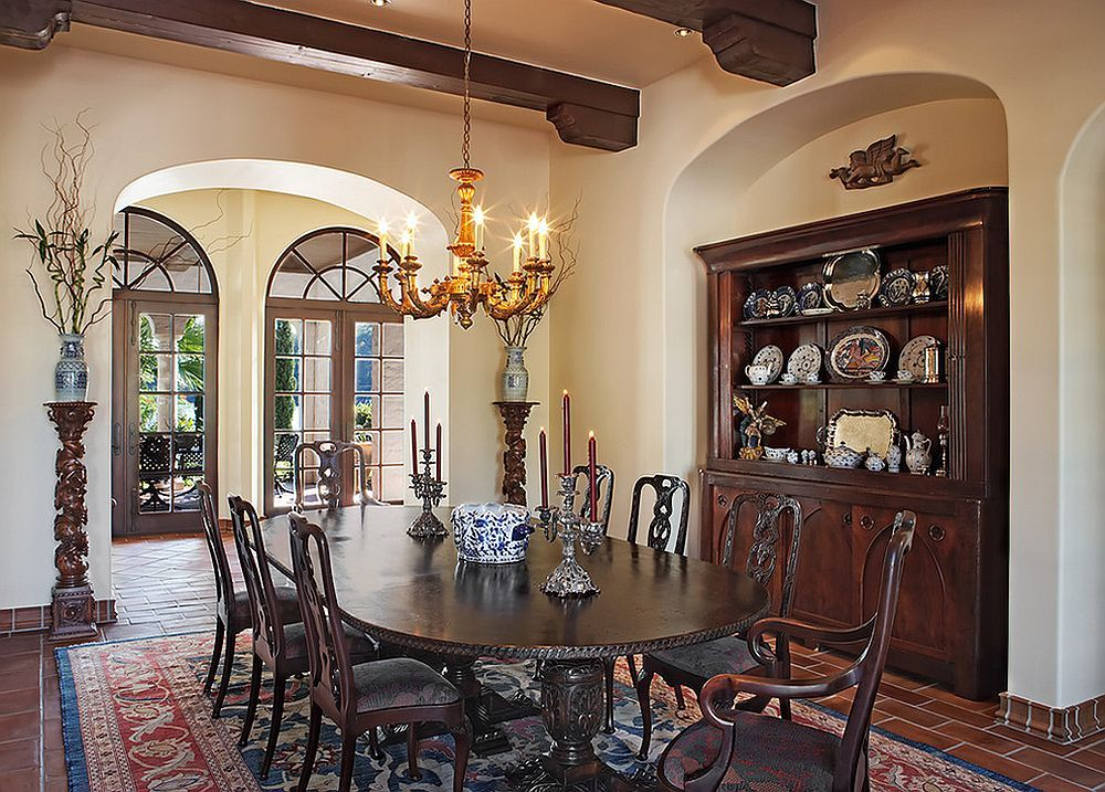 Dining Room Has A Custom Nook For The Hutch Design Cornerstone Architects Buffet Anne 30