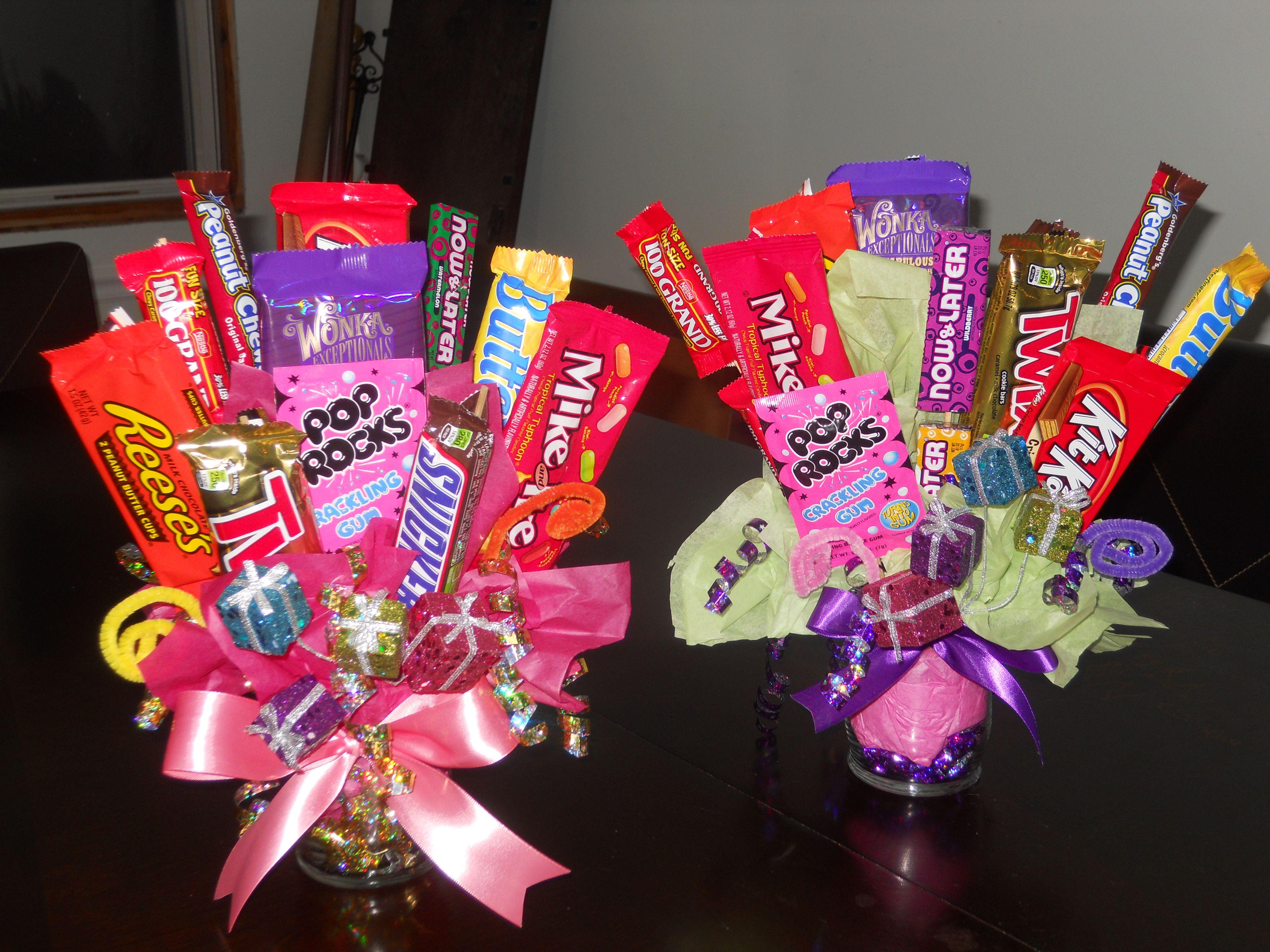 Diy candy bouquets shop pinterest