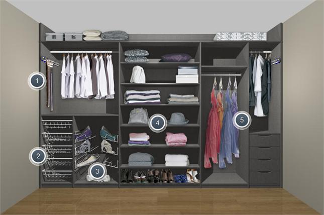 Шкафы купе внутренний дизайн в спальню