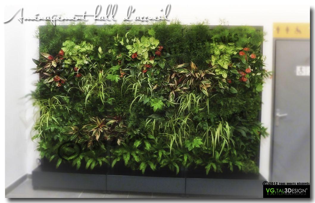 Mur v g tal d - Kit mur vegetal interieur ...
